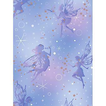 Be Dazzled Fairy Dream Wallpaper Moondust Coloroll M1422