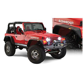 Bushwacker 10920-07 FF Jeep Flat Sty 2Pc