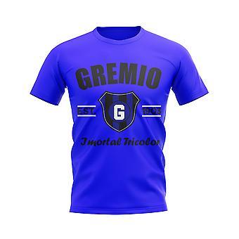 Gremio etabliert Fußball T-Shirt (blau)