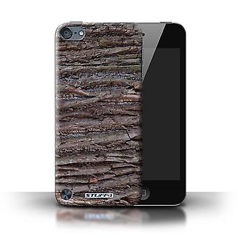 STUFF4 Case/Cover for Apple iPod Touch 5/Textured/Brown/Tree Bark
