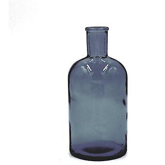 Heinu Heinu bottle Retro blue 20cm (Decoratie , Vazen)