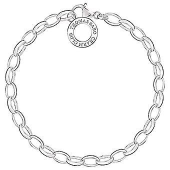 Thomas Sabo Charm Club Women's Bracelet - Silver 925 - Taille 16 cm