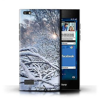 STUFF4 Case/Cover for Blackberry Leap/Branches/Twigs/Winter Season