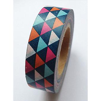 Washi Tape 15Mm X 5M Geometric Triangles Lmt15x5 551