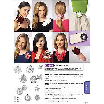 Flower Accessories  All Sizes In One Envelope Pattern K3947