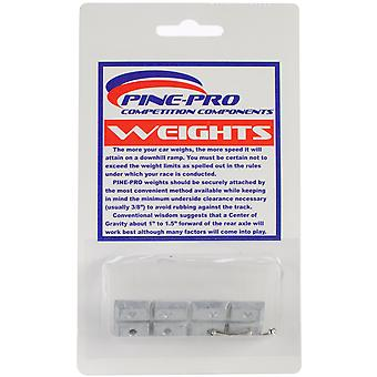 Pine Car Derby Weights 1 Ounce Rectangle Pp10011
