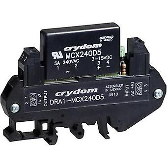 Crydom DRA1-MCX240D5 DIN Rail Mount Solid State Relay, AC