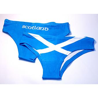 Ladies Scottish Saltire Flag Briefs