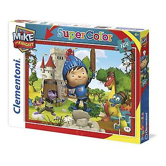 Clementoni 104 Puzzle Pieces wham Mike Knight (Spielzeuge , Brettspiele , Puzzles)