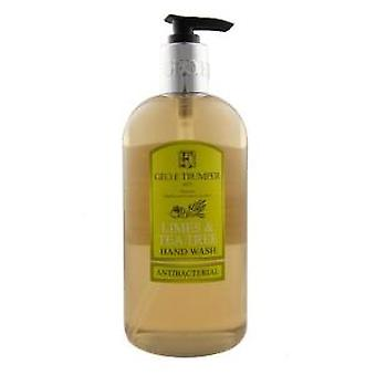 Geo F Trumper Limes et Tea Tree lave-mains antibactérien 500ml