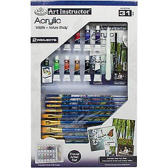 Art Instructor Acrylic Clearview Art Set-Large - 31pc RACR3302