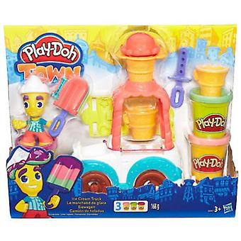 Play Doh Town Ice Cream Truck (Toys , Educative And Creative , Arts And Crafts , Dough)