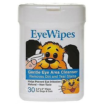 Wipes Eye pkt 30 (Petkin)
