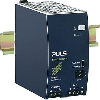 Rail mounted PSU (DIN) PULS DIMENSION 12 Vdc 30 A 450 W 1 x