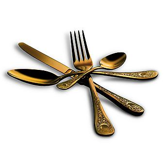 Mepra Diana Oro 24 pcs flatware set