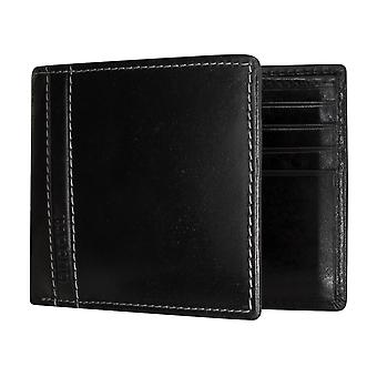 Bugatti Gola men's apparent bag purse wallet purse black 5177