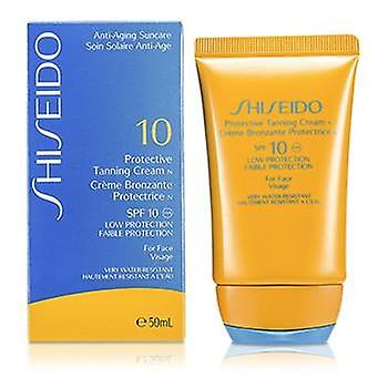 Shiseido Protective Tanning Cream N SPF 10 (For Face) - 50ml/1.7oz