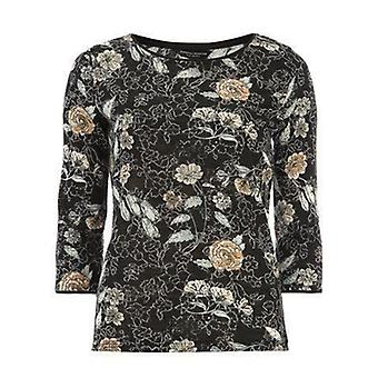Skitse Floral Bling Strik Top