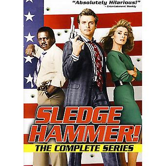 Sledge Hammer!: Complete Series [DVD] USA import