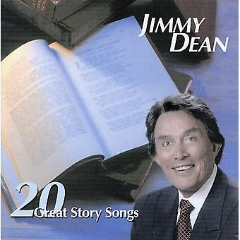 Jimmy Dean - 20 import de USA de grandes canciones de la historia [CD]