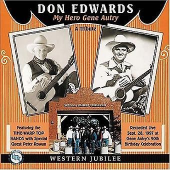 Don Edwards - My Hero Gene Autry [CD] USA import