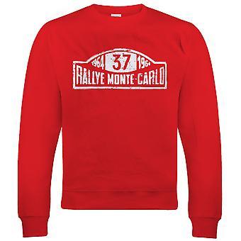 Cooper S, Mens Rally Car Sweatshirt