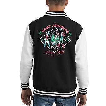 Dragon Ball Z Kame Aerobic Kid Varsity Jacket