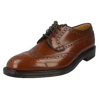 Mens Loake Formal Brogue Shoes Braemar