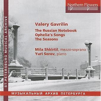 Shkirtil / Serov - V. Gavrilin - russisk Notebook [CD] USA import