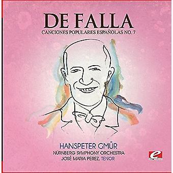 De Falla - Seven Canciones Populares Espanolas 7 Polo [CD] USA import