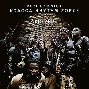 Ernestus, Mark Ndagga Rhythm Force - Yermande [CD] USA import