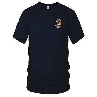 US Army - 3rd Squadron 126th Aviation Regiment B Company Embroidered Patch - - B Version Ladies T Shirt