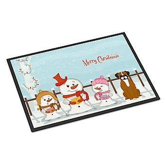 عيد ميلاد سعيد الجوقات براقة الظبي الملاكم الأماكن المغلقة أو في الهواء الطلق حصيرة 24 × 36