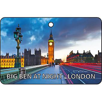 Bign Ben At Night - London Car Air Freshener