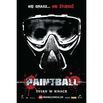 Paintball film affisch (11 x 17)