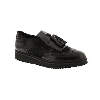 Geox Thymar C - nero/antracite (artificiale) Womens Shoes