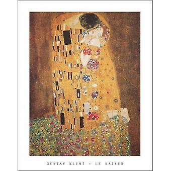 Le Baiser 1908 Poster Print by Gustav Klimt (22 x 28)