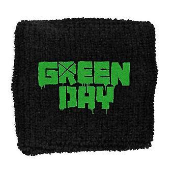 Green Day Band Logo American Idiot Official New Black Cotton Sweatband
