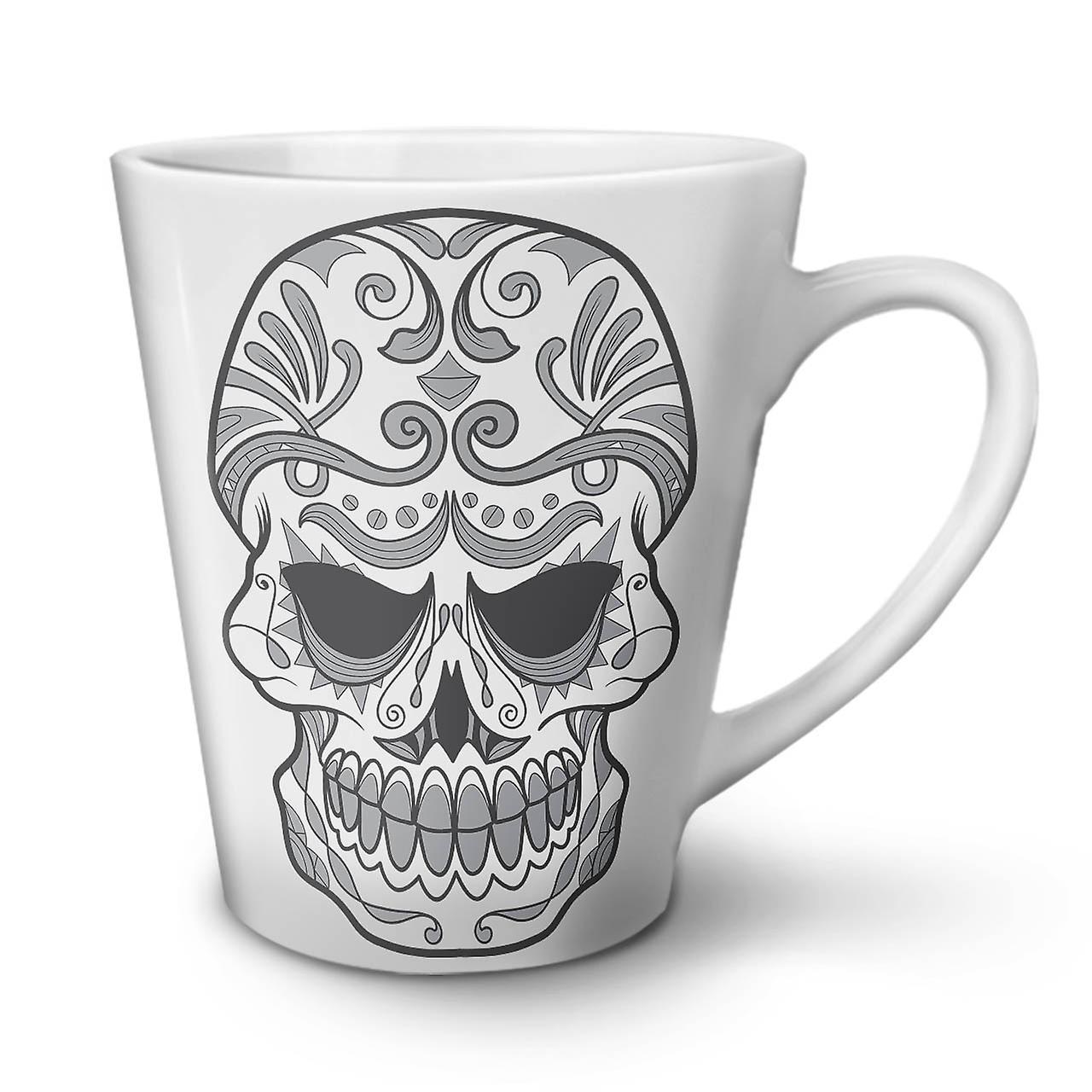 Mug Ceramic White Latte Katana New Tea 12 OzWellcoda Coffee Cool f6yvgYb7