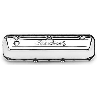Edelbrock 4463 Signature Series Chrome Valve Covers - Set of 2