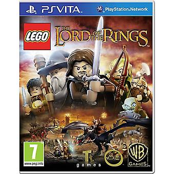 LEGO Lord of the Rings Playstation Vita Game