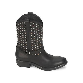 Catarina Martins women's LE1915L250BLK black leather ankle boots