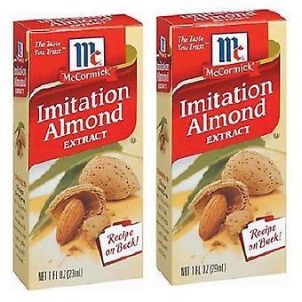 McCormick Imitation Almond Extract 2 Bottle Pack