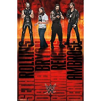 WWE - Group 15 Poster Print