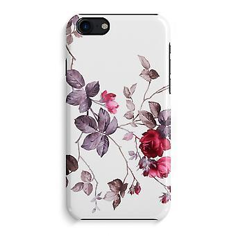 iPhone 7 Full Print Case (Glossy) - Pretty flowers