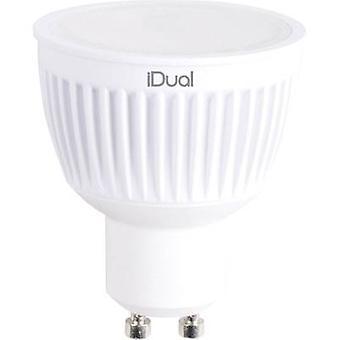 LED GU10 Reflector 7 W = 35 W RGBW (Ø x L) 50 mm x 59 mm EEC: A JEDI Lighting dimmable, colour-changing 1 pc(s)