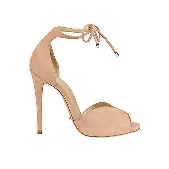Protection women's MCGLCAT03093E pink suede sandals