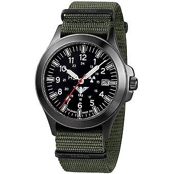KHS relojes para hombre reloj a negro Pelotón KHS titanio. BPT.NO