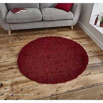 Vista-Red Circle-Teppich