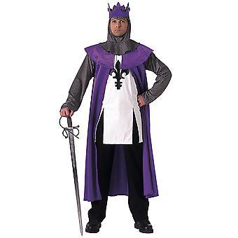 Renaissance król średniowieczny królewski bajka historia książki tydzień mężczyzn kostium STD